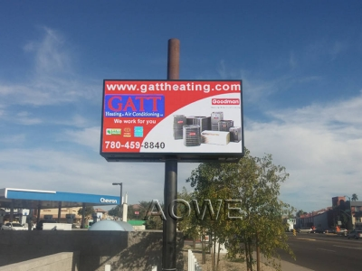 AOWE P10 outdoor led sign --USA