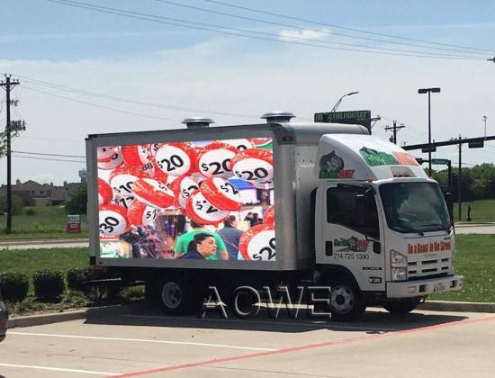 AOWE P6 Truck led display--USA