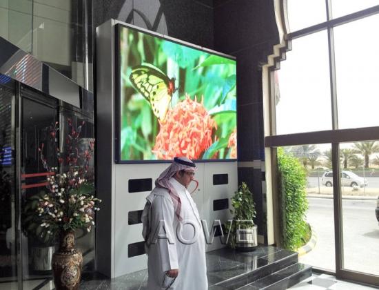 AOWE P6 indoor led screen-Saudi Arabia